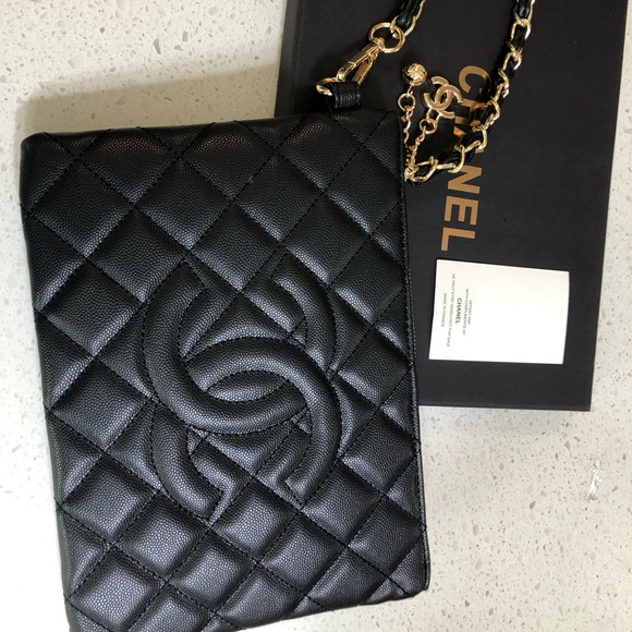 Chanel VIP Gift wristlet